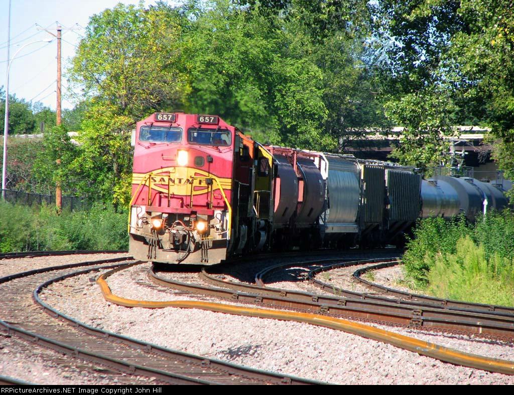 100912012 Eastbound BNSF Freight