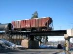 100226005 Westbound BNSF Tank Train (Ethanol?)