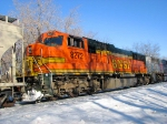 100226013 Eastbound BNSF Manifest Waits In siding