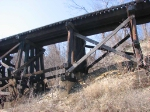 100325100 MILW Curved Ford Line Trestle