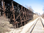 100325102 MILW Curved Ford Line Trestle