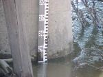 100404005 Ex-C&NW Carver Bridge Over Minnesota River During Spring Flood