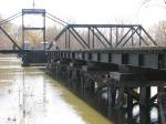 100404026 MN&S Savage Swing Bridge During Spring Flood