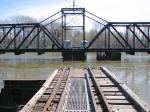 100404043 MN&S Savage Swing Bridge During Spring Flood