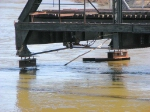 100404050 MN&S Savage Swing Bridge During Spring Flood