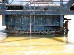 100404051 MN&S Savage Swing Bridge During Spring Flood