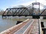 100404061 MN&S Savage Swing Bridge During Spring Flood