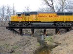 100404091 Westbound UP Freight
