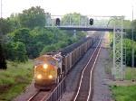 100616033 Eastbound BNSF COLX coal train