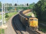 100616044 Eastbound BNSF COLX coal train