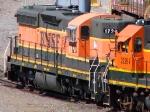 "100629025 BNSF 1720 in the Northtown Yard ""Boondocks"""