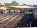 101009127 Northbound BNSF All-Rail Taconite Ore Empties On The North Runner At Northtown Yard