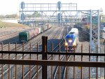 101009135 Northbound Northstar MNRX Commuter Passes BNSF Northtown Yard