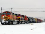 101225009 Eastbound BNSF KCK-Northtown Train Passing CTC University