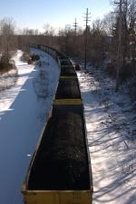 Northbound Coal Gondolas