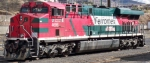 Ferromex ES440AC waiting for asignment in Nogales, Sonora yard.