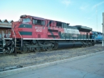 FXE 4013 SD70ACe in Nogales, Sonora Yard.