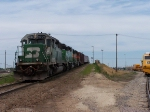 BNSF 8000 finishes up
