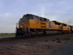 UP SD70ACe ON A NORTHBOUND INTERMODAL!!!