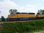 New Paint SD40M-2 on an Intermodal