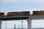 BNSF 7419 on Z-train