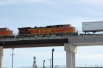 BNSF 5029 on Z-train