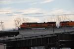 BNSF 1063 on Z-train