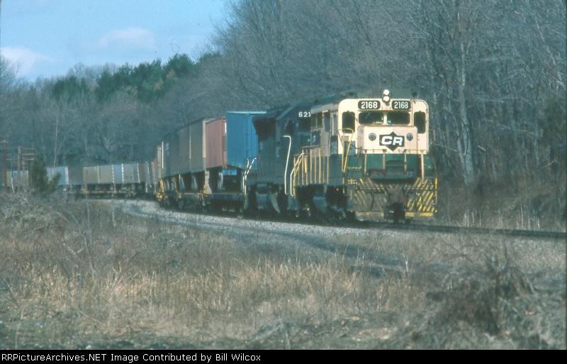 Conrail TV4 eastbound