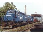 Conrail train BEWA2
