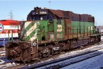 Burlington Northern SD38-2 6262