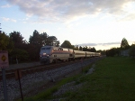 Eastbound Amtrak