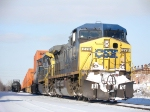 CSX 278 with the Schneider train