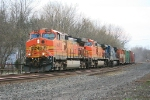 CSX Q380 with BNSF and CR units