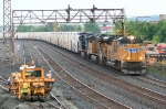 CSX L091 with a UP SD70ACe