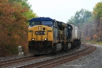 CSX Q114 with two AC600CWs