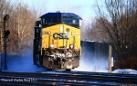 CSX S351 rolls off the shore