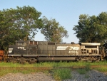 NS 9762, reflecting on the CHW yard