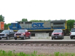 CSX on a Rainy Morning