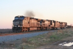 NS 330 with the last sun rays of the day