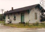 EJ&E Plainfield depot- circa 1993- backside