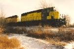 Westbound vehicle train