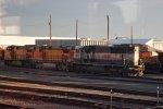 BNSF 9536 & A Flurry of Power
