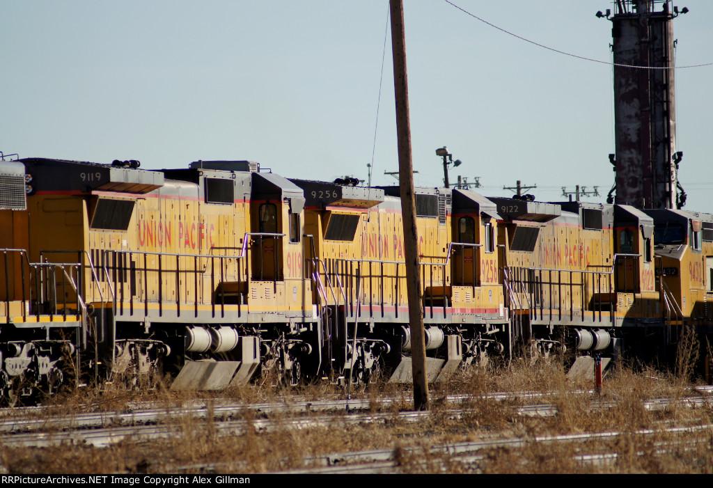 UP 9119, 9256, 9122 - Deadline Units