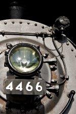 UP 4466 Headlight & Detail