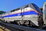 Amtrak 184 Westbound - Roster