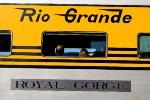 "Rio Grande ""Royle Gorge"" Nameplate"