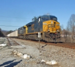 CSX ES44 and AC44 going through Clinchcross