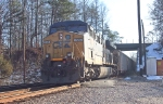 The DPU of another CSX coal train