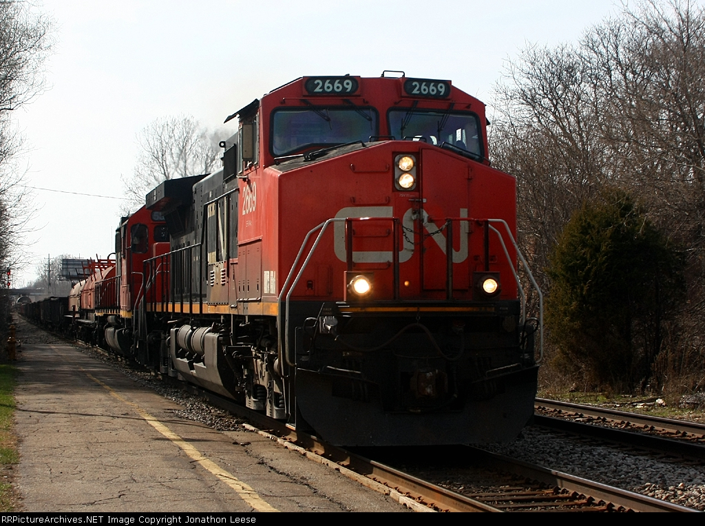 M396 heads past the depot
