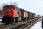CN 5603 leads a westbound